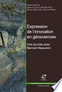 Expression de l'innovation en géosciences