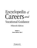 Encyclopedia Of Careers And Vocational Guidance Book PDF