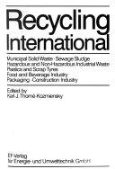 Recycling International Book