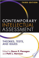 Contemporary Intellectual Assessment Third Edition Book PDF