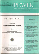 Indian Journal of Power and River Valley Development