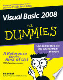 List of Dummies Visual Studio E-book