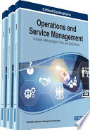 Operations and Service Management  Concepts  Methodologies  Tools  and Applications