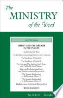The Ministry Of The Word Vol 21 No 11