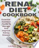 RENAL DIET COOKBOOK Book
