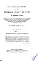The after-growth of the constitution