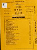 Ohio Monthly Record