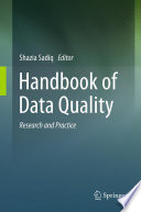 Handbook of Data Quality