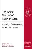 Pdf The Gesta Tancredi of Ralph of Caen