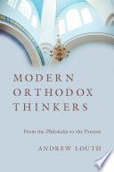 Modern Orthodox Thinkers