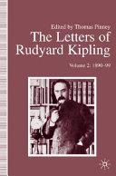The Letters of Rudyard Kipling Book