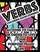 Verbs Coloringbook Journal Book PDF