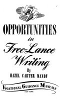 Opportunities in Free lance Writing