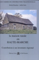 Pdf La maison rurale en Haute-Marche Telecharger