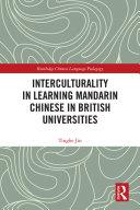 Interculturality in Learning Mandarin Chinese in British Universities Pdf/ePub eBook