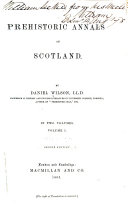 Prehistoric Annals of Scotland