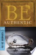 Be Authentic Genesis 25 50