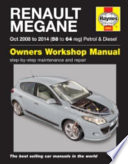 Renault Megane Petrol and Diesel Owner's Workshop Manual