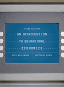 Cover of An Introduction to Behavioral Economics