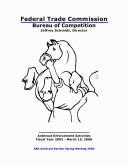 Annual Antitrust Enforcement Activities Reports 2006