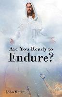 Are You Ready to Endure? Pdf/ePub eBook