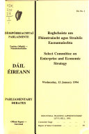 Pdf Select Committee on Enterprise and Economic Strategy
