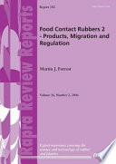 Food Contact Rubbers 2