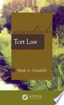 Tort Law  : Essentials