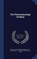 The Phenomenology Of Mind