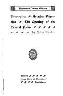 Proserpina  Ariadne Florentina  Opening of the Crystal Palace