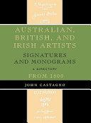 Australian  British and Irish Artists