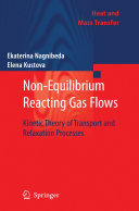 Non-Equilibrium Reacting Gas Flows Pdf/ePub eBook