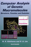 Computer Analysis of Genetic Macromolecules: Structure, Function and Evolution [Pdf/ePub] eBook