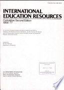 International Education Resources Book PDF