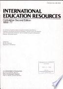 International Education Resources