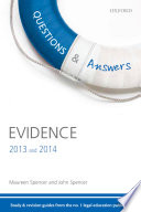 Q A Revision Guide Evidence 2013 And 2014