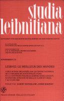 Leibniz, le meilleur des mondes