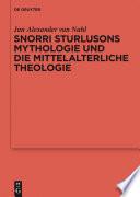Snorri Sturlusons Mythologie und die mittelalterliche Theologie