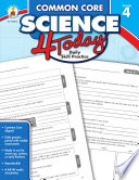 Common Core Science 4 Today  Grade 4 Book