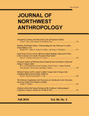 Pdf Journal of Northwest Anthropology Telecharger