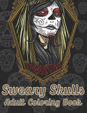 Sweary Skulls Adults Coloring Book