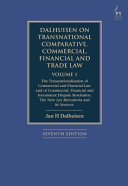 Dalhuisen on Transnational Comparative  Commercial  Financial and Trade Law