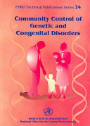 Community Control of Genetic and Congenital Disorders