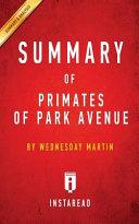 Summary of Primates of Park Avenue Book PDF