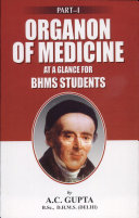 Organon of Medicine at a Glance