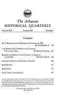 Arkansas Historical Quarterly