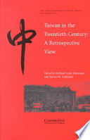 Taiwan in the Twentieth Century Book PDF