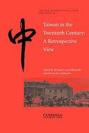 Taiwan in the Twentieth Century