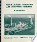 Flue Gas Desulfurization and Industrial Minerals Book