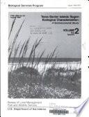 Texas Barrier Islands Region Ecological Characterization